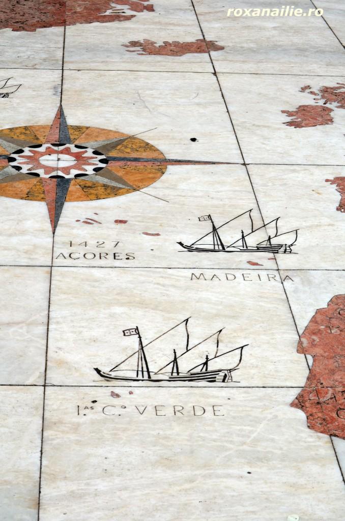 Un paviment ca o lectie de geografie