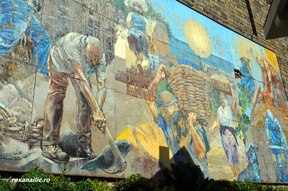 Culoarea e esențială în arta din Cinque Terre