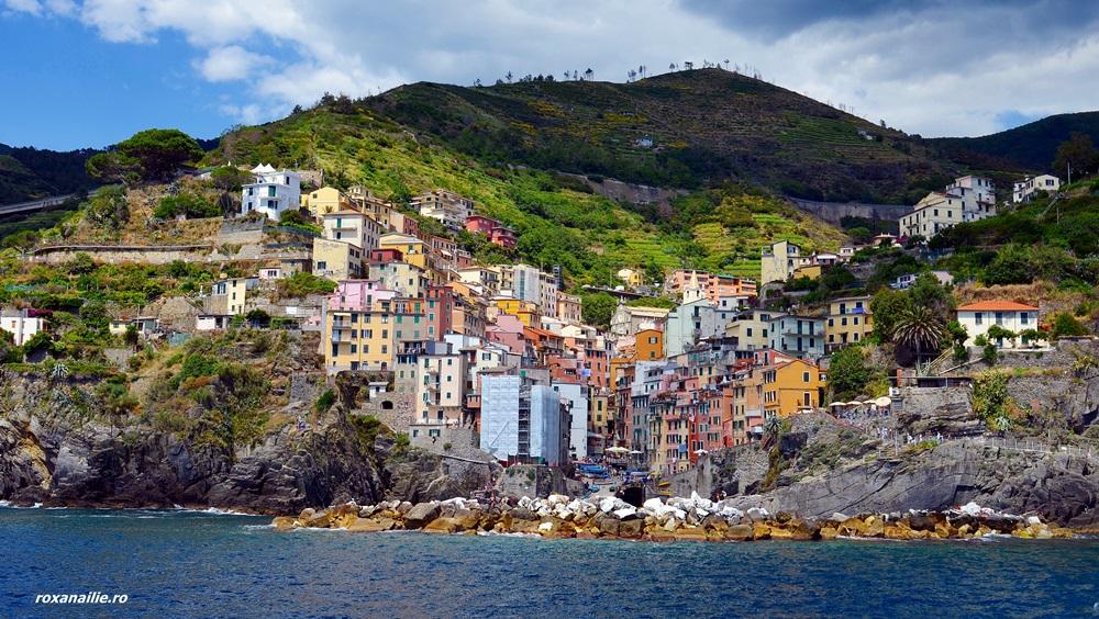 Orgie de culoare în Riomaggiore