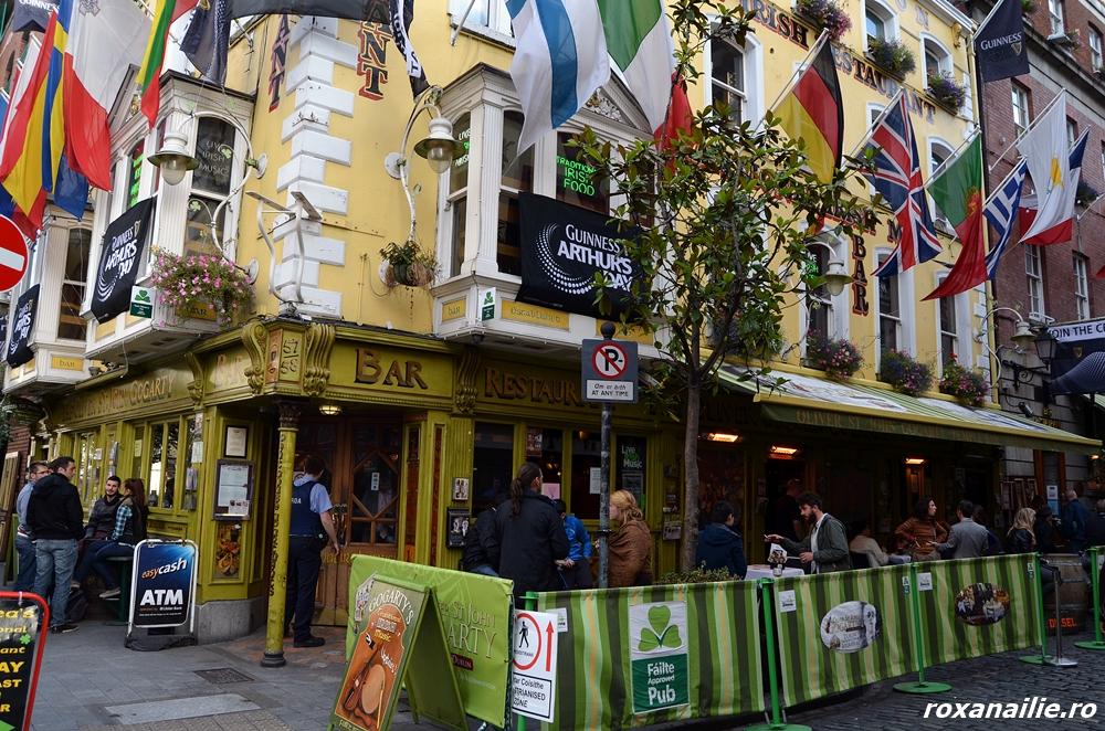 La pas prin Temple Bar – încă e liniște