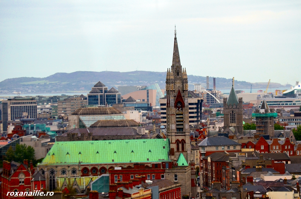 Dublin văzut din Gravity bar – Guinness Storehouse