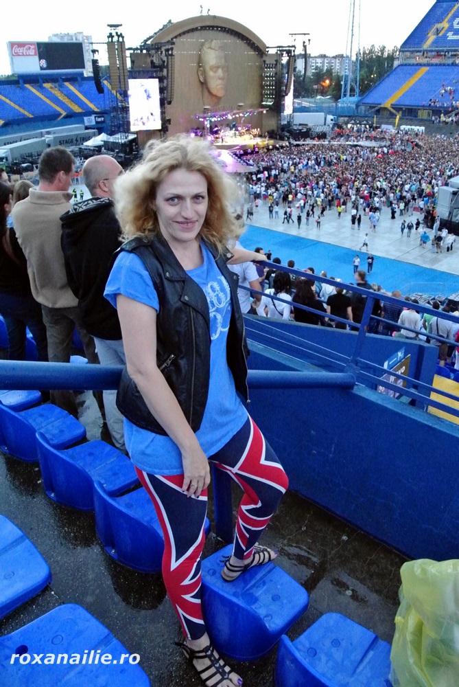 I-am salutat pe britanici cum se cuvine la concertele lor