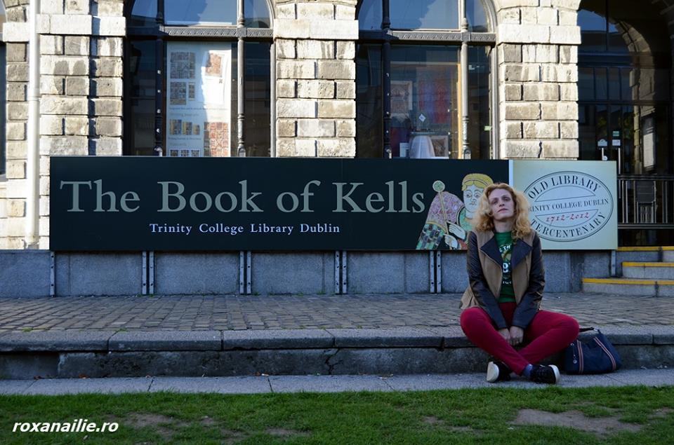 La Biblioteca Trinity College, în vizită la Books of Kells