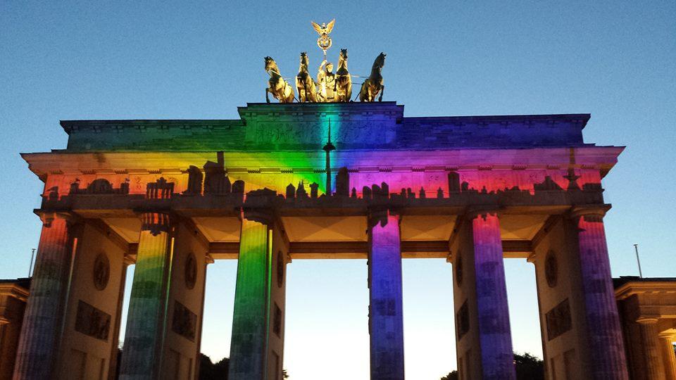 Festivalul luminilor din Berlin, singura pată de culoare