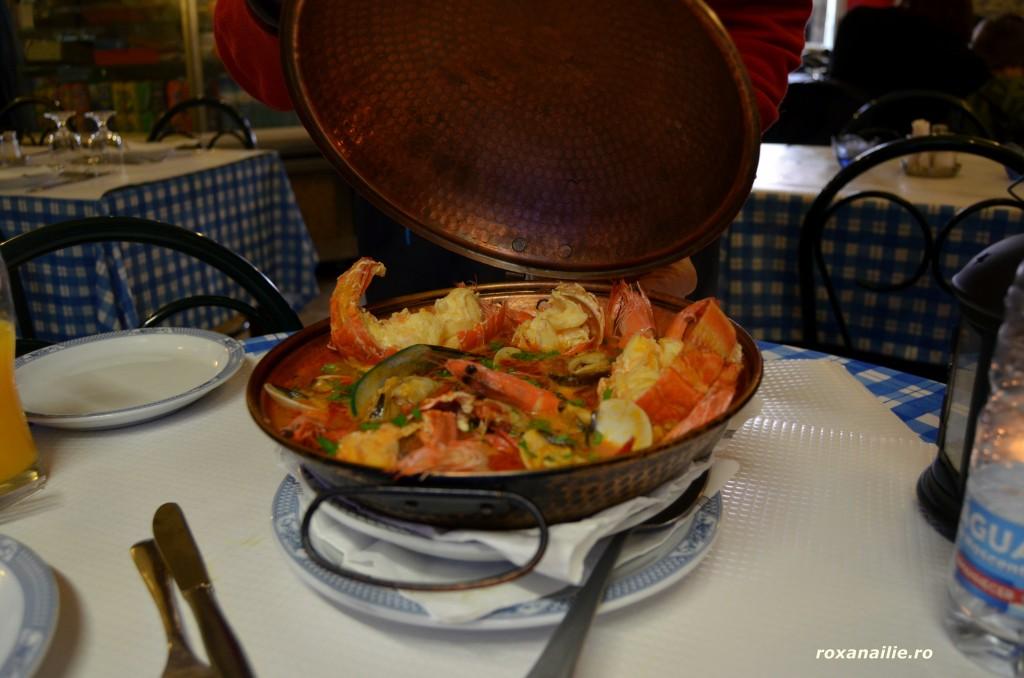 Cataplana cu homari și scoici