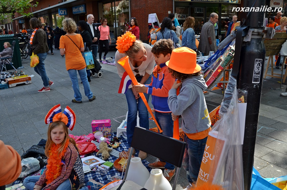 Prima lecție de vânzare… portocalie