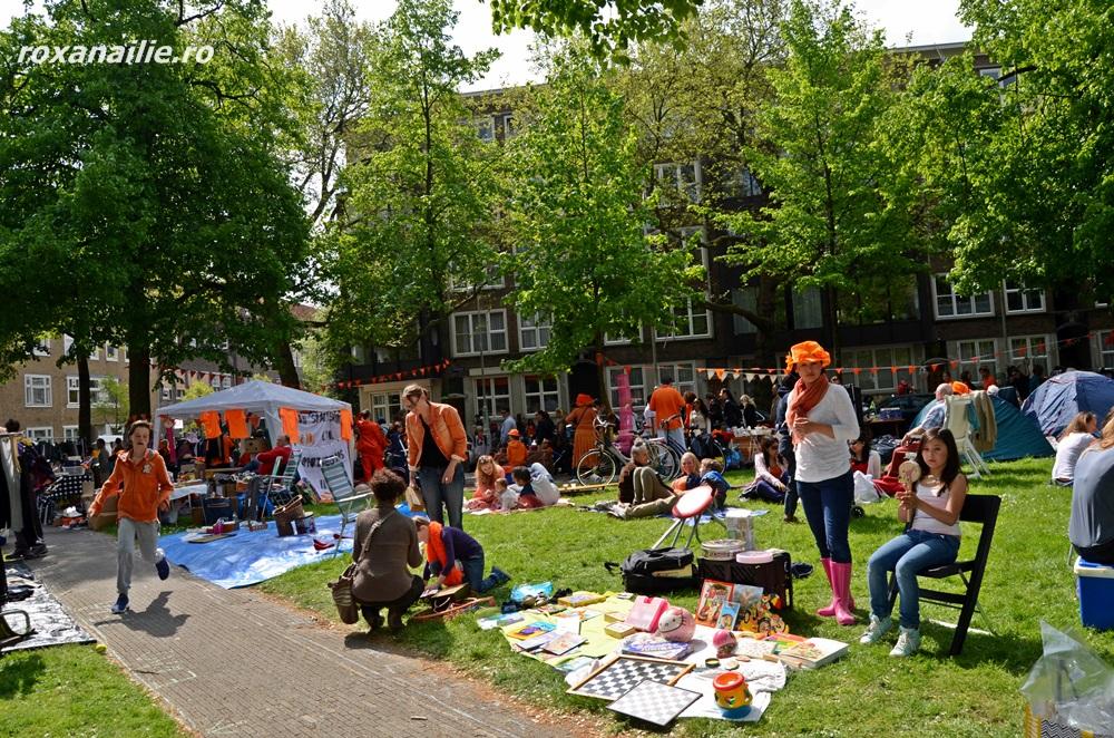 Open market … portocaliul și micile amintiri personale au invadat spațiile verzi