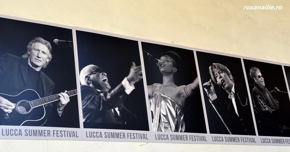 Impresionantă galeria de artisti de la Lucca Summer Festival