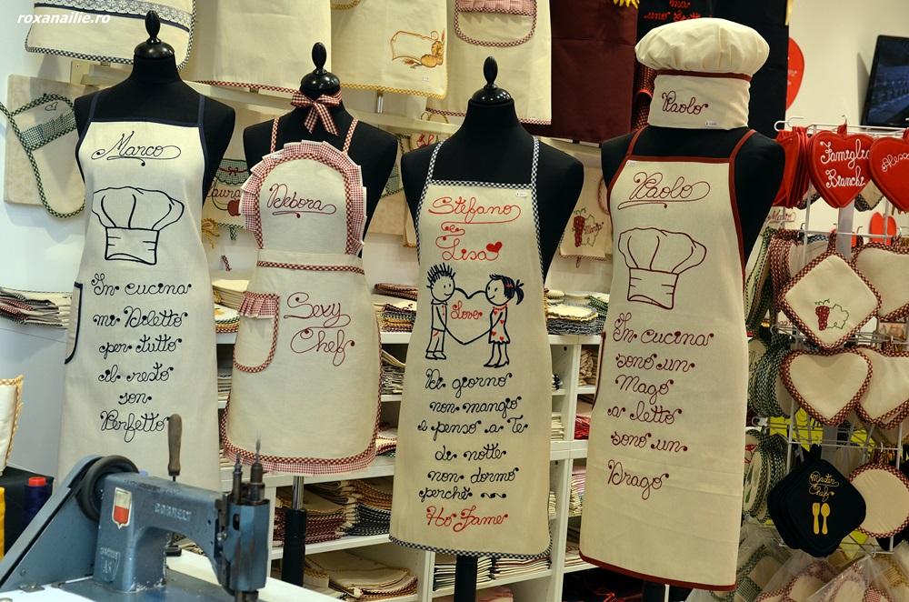 Șorțuri personalizate pe loc pentru chefi cu suflet