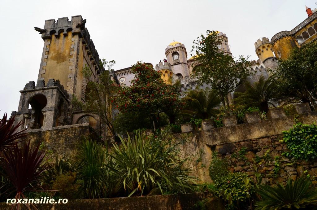 Parcul Pena, o continuare imediata a extravagantei luxuriante a castelului