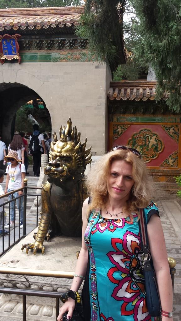 Cu dragonul, reprezentarea imparatului
