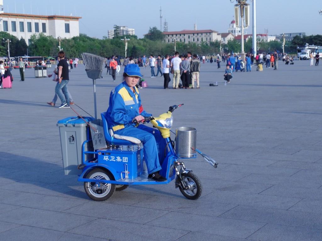 Sa facem putina curtenie in Tiananmen