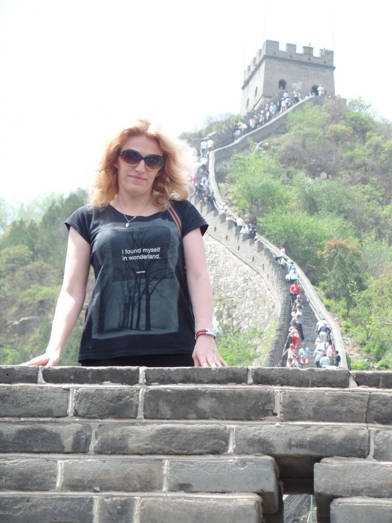 Un Mare zid se asterne in spatele meu. Dar si in fata :)