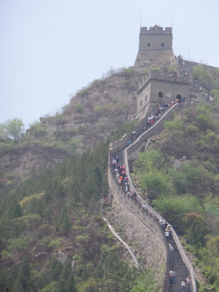 Pe creste de zid chinezesc