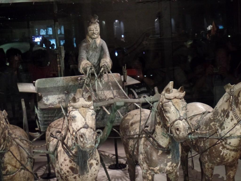 Car de luptă de bronz din armata împăratului