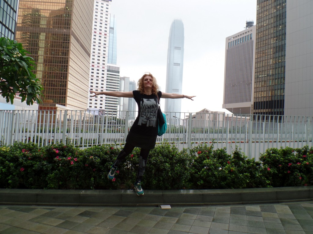 I believe I can fly... in Hong Kong
