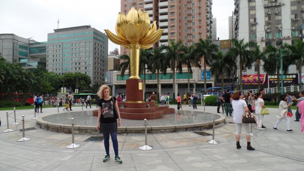 Floarea de lotus deschisa, simbol pentru Macau