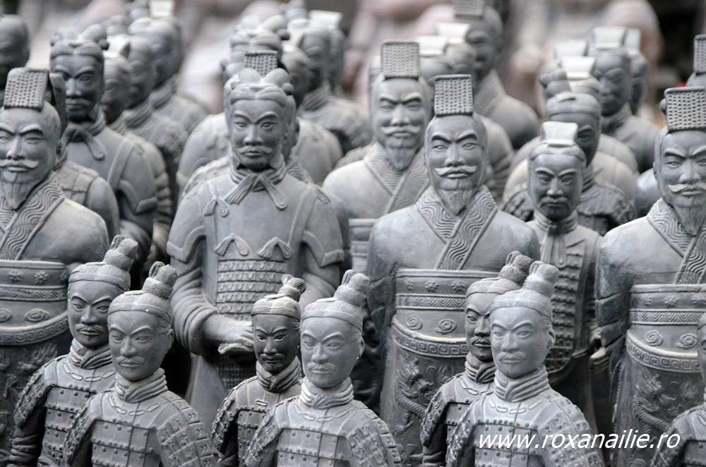 Chipuri diferite, ranguri diferite, un singur scop, apărarea împăratului