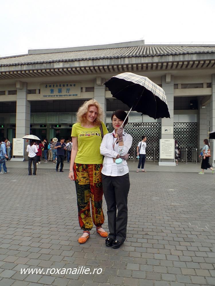 Două culturi, două rase... o singură umbrelă :)