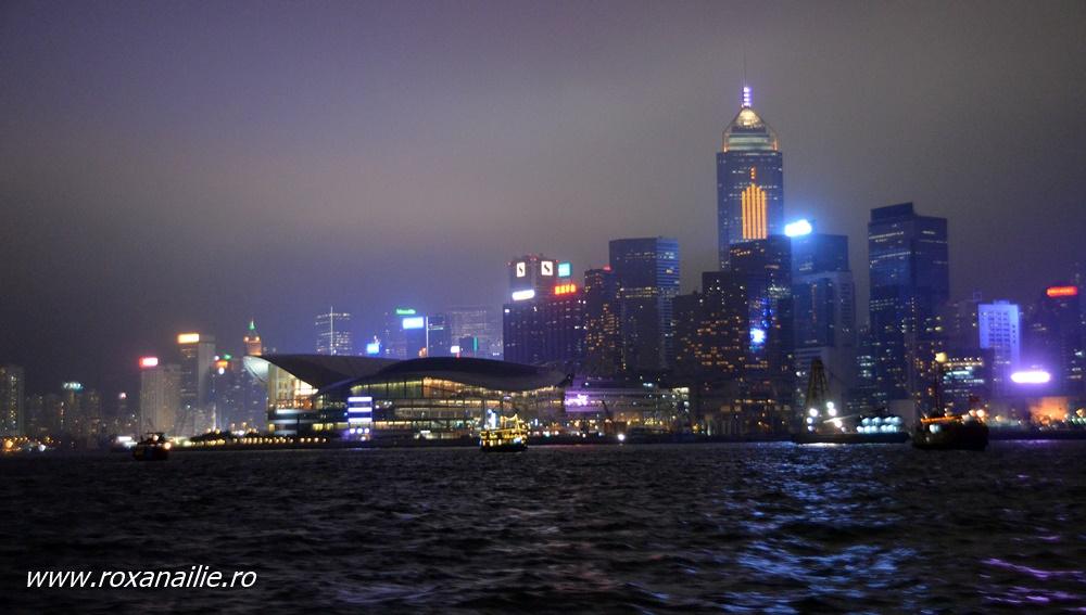 Culorile nocturne ale Hong Kong-ului