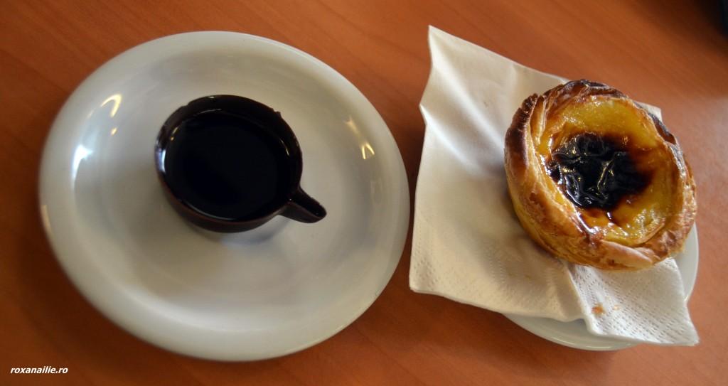 Ginja în căniță de ciocolată și un inebunitor pasteis