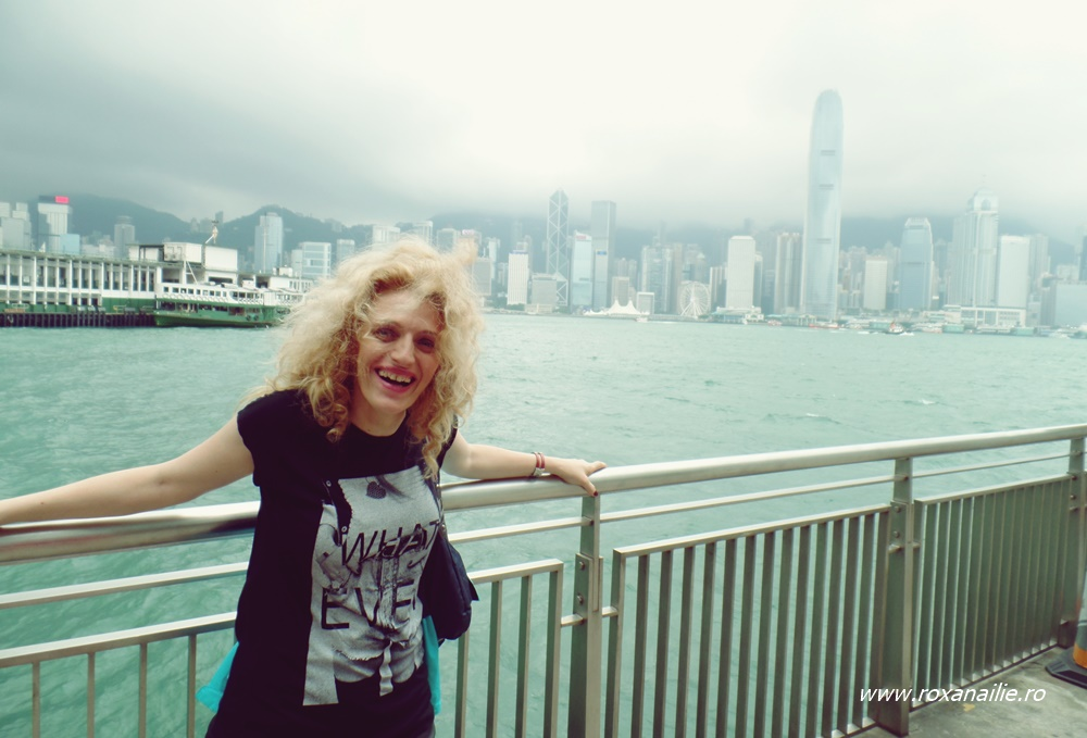 Hong Kong insular, văzut din Kawloon.