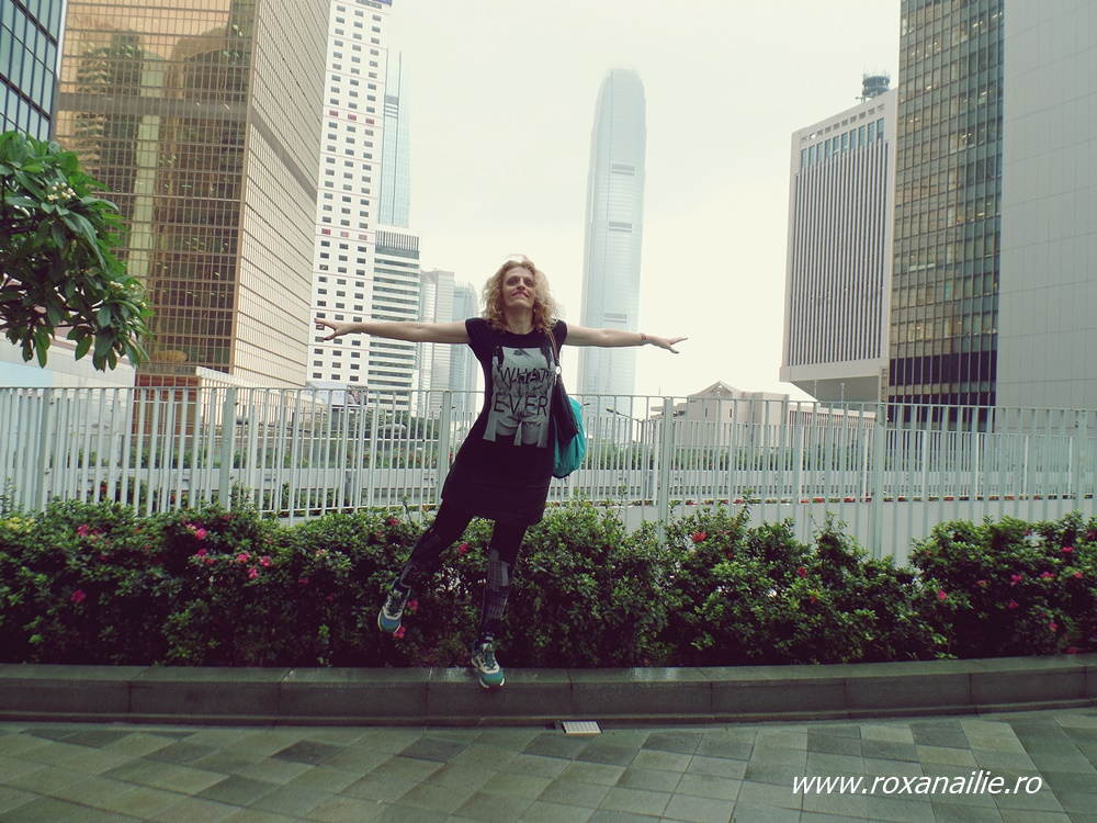 I believe I can fly. In Hong Kong.