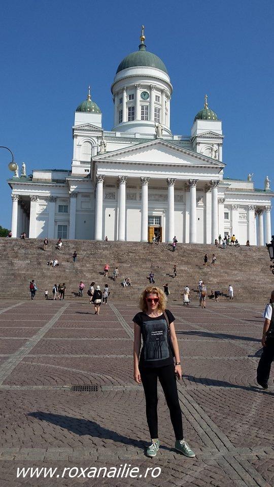 Catedrala din Helsinki, probabil cea mai impunătoare clădire a orașului