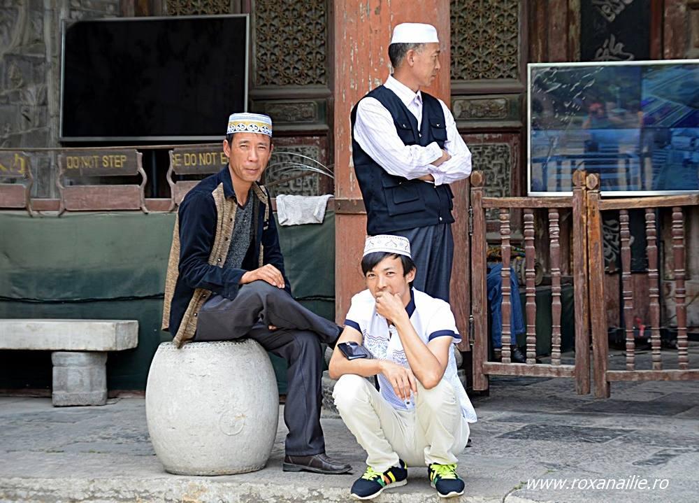 Liniștea și oamenii moscheei din Xi'an