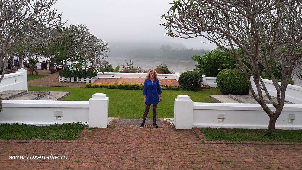 Vedere spectaculoasă către Mekong și ceața ce-l însoțeste mereu