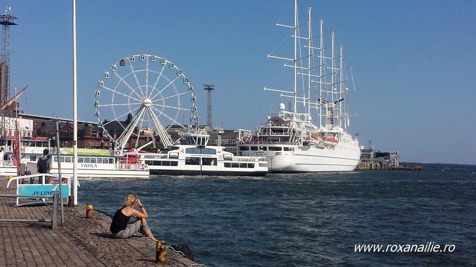 Helsinki merită vizitat fie și numai pentru asemenea priveliște marină